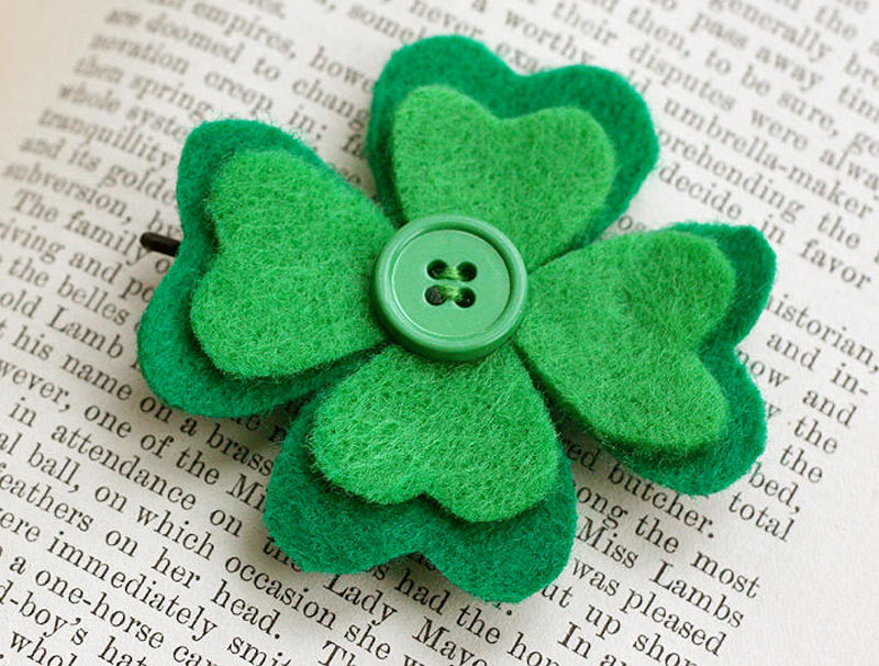 Diy st patrick s day hair accessories babes in hairland