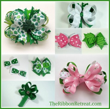 St. Patrick's Day Hair Accessories (10)